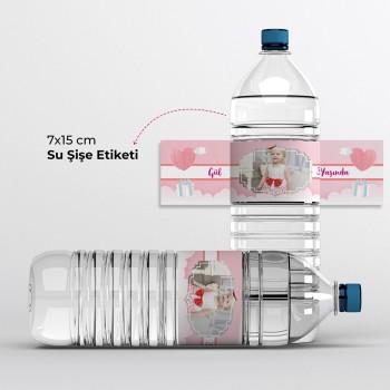 Su Şişesi Etiketi ( Şişe Sargı Etiketi) 50 Adet