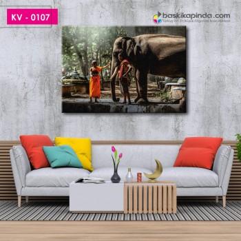 Kanvas Tablo ( 70 x 100 cm )