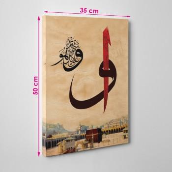 Kanvas Tablo ( 35 x 50 cm )