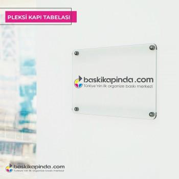 Pleksi Kapı Tabelası 5 mm ( 30 x 40 cm )